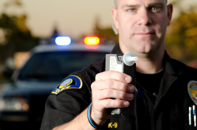 complete a breath test